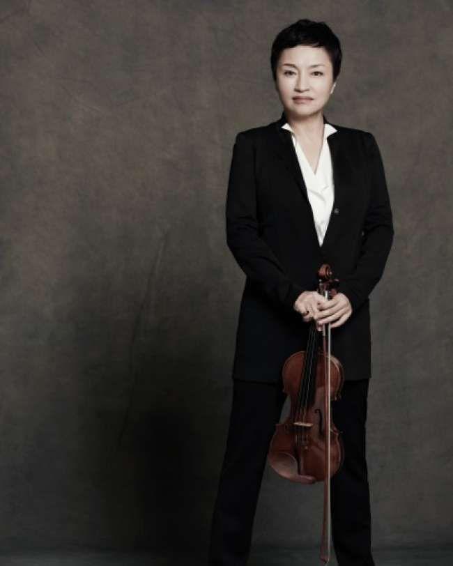Violinist Kyung Wha Chung to make UK stage comeback