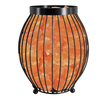 "Himalayan Salt Lamp Home Depot Mesmerizing Wbm Llc Himalayan Glow 83"" Table Lamp & Reviews  Wayfair Inspiration"