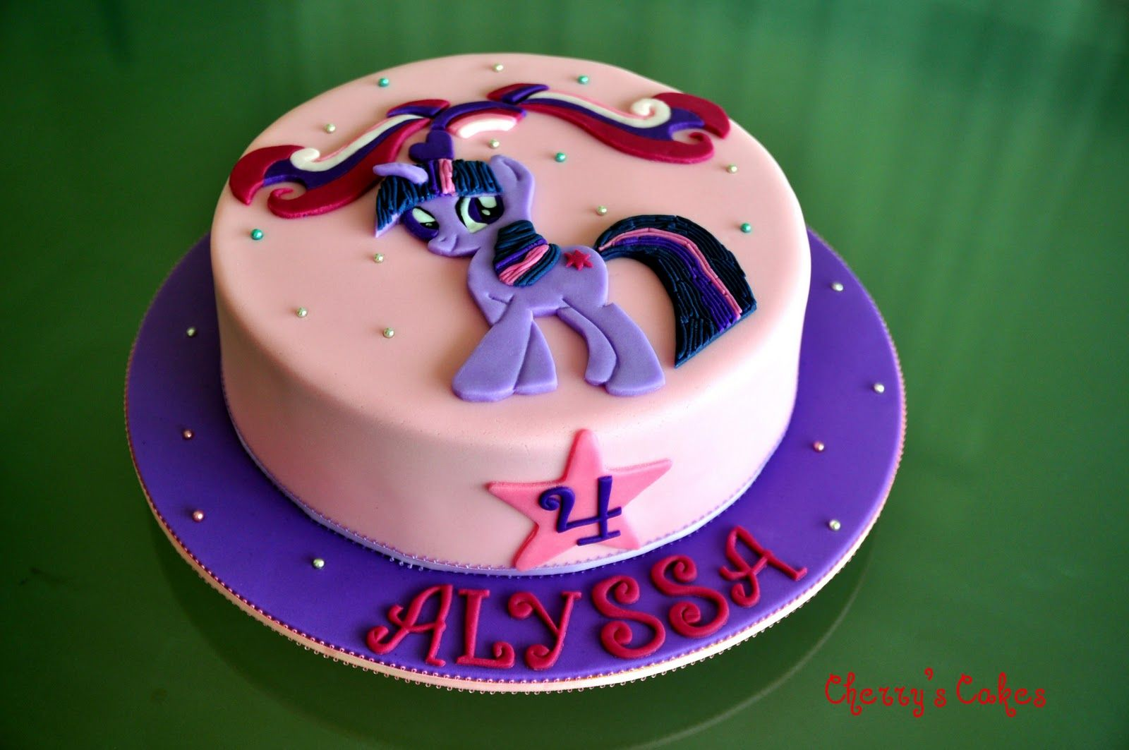 Twilight Pony Birthdaycake