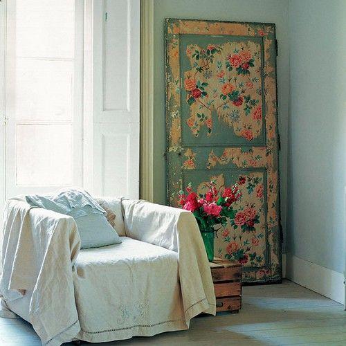 its like a garden inside for no green thumbers decoupage door
