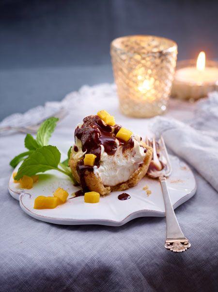 Schokolade, Mango, Spritzgebäck - eine wunderbare Kombi!
