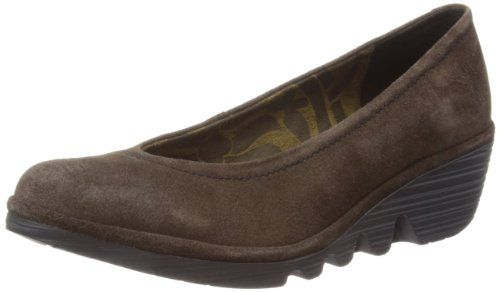 Fly London Womens Pump Suede Loafers P500424001 Expresso 5 UK, 38 EU: Amazon.co.uk: Shoes & Bags