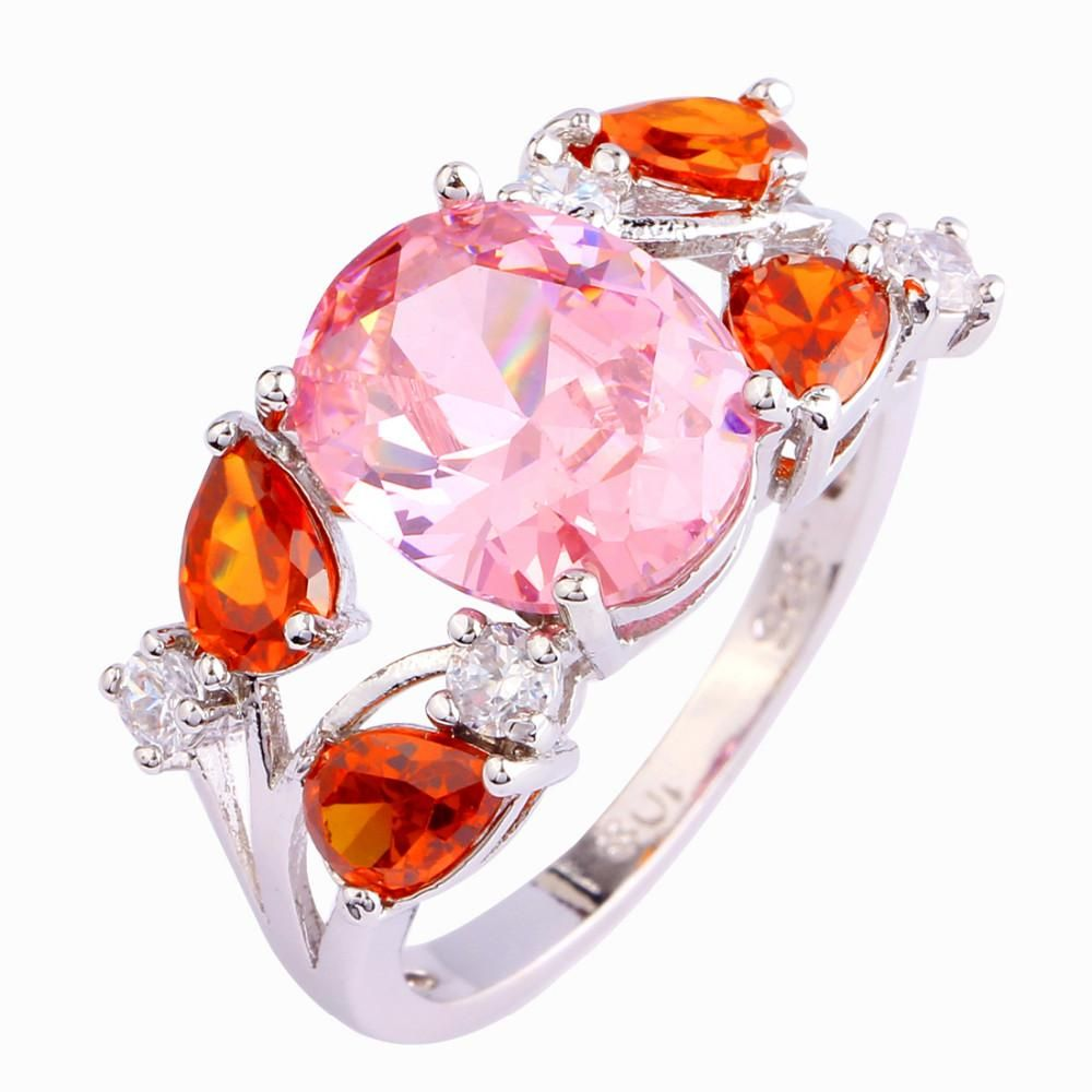 Pink Ice and Garnet ring | Garnet rings and Products