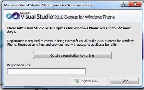 visual studio 2010 express keygen