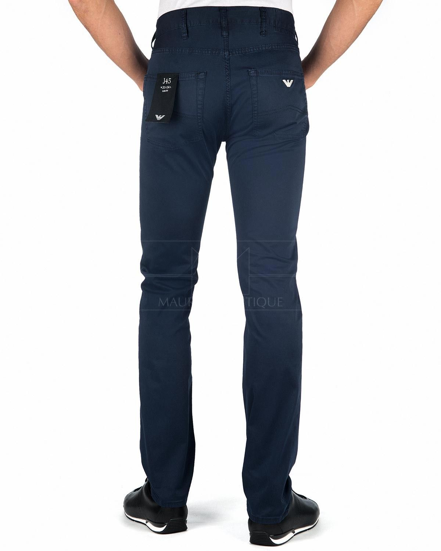 Emporio Armani Pantalones Emporio Armani J45 Azul Marino Pantalones De Mezclilla Jeans Armani Tiendas Online De Ropa