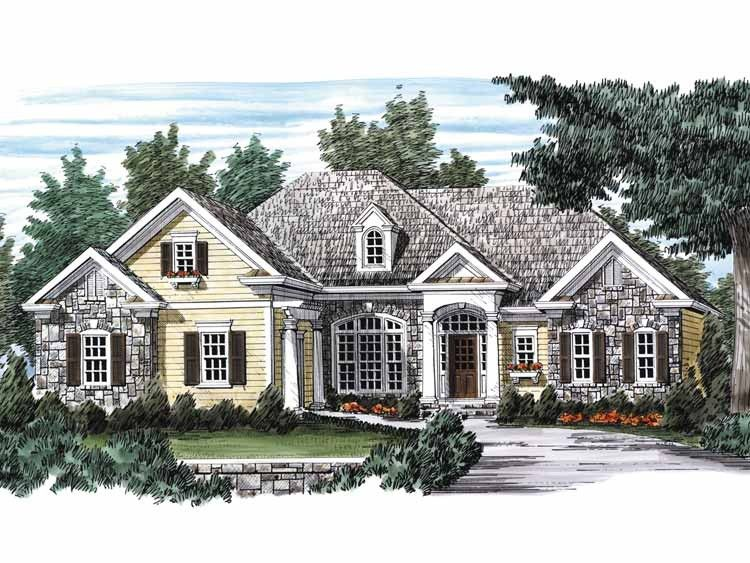 Eplans french country house plan european aura 2282 for Eplan house plans