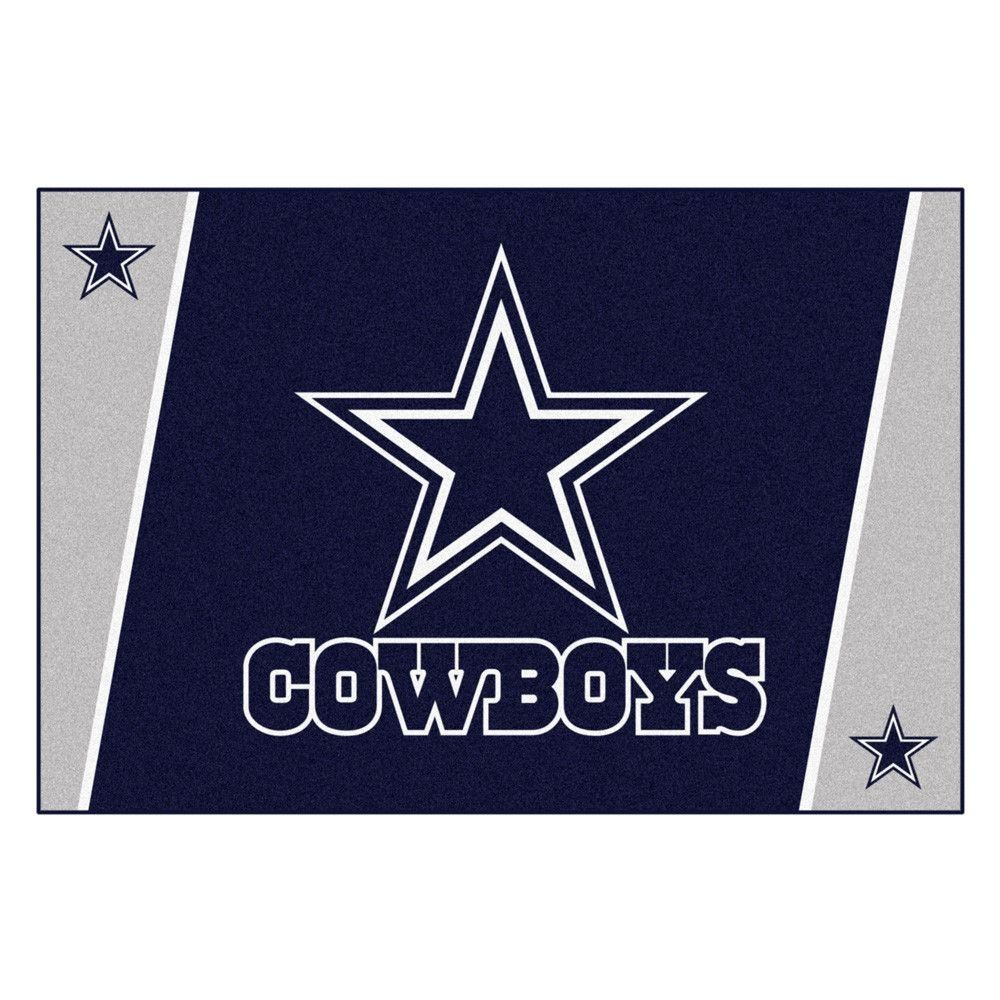 Be A Winner With The Dallas Cowboys Ultra Plush Area Rug.