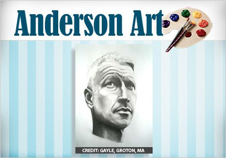 Meet our 'Anderson Live' Artist of the Month! My friend and fabulous artist, Gayle McCauley! Congrats!