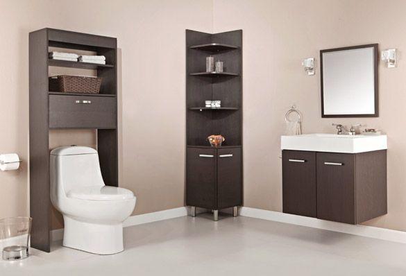 Ahorra espacio y dale estilo a tu ba o al mismo tiempo ba os ba os muebles de ba o y - Muebles ahorra espacio ...