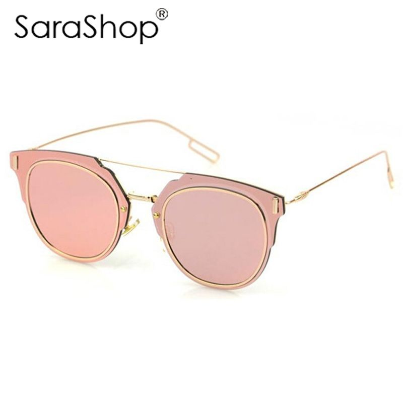 $12.99 (Buy here: http://appdeal.ru/5fix ) Women Brand designer Mirror Sunglasses 2015 Luxury Round Shades Oculos De Sol  a432 for just $12.99