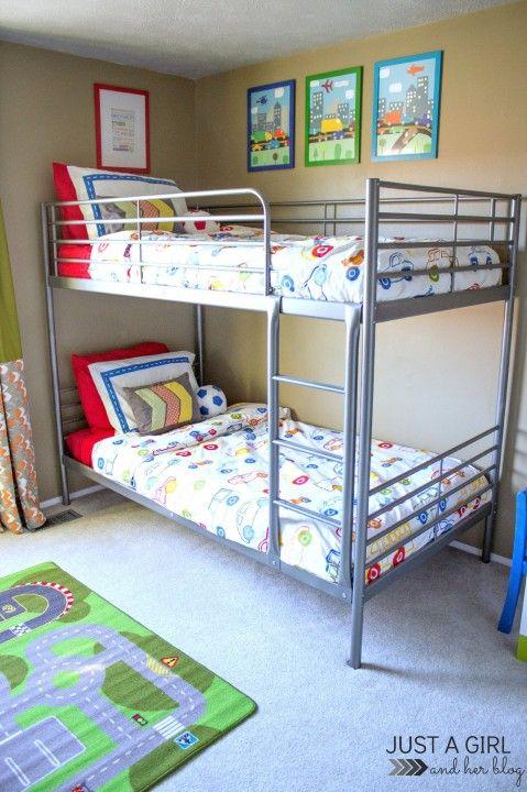 the cs ikea big boy room reveal kids boys bedroom decor kids rh pinterest com
