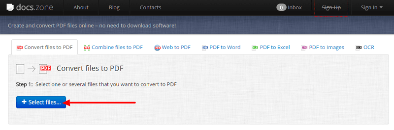 Instantly convert PDF files to Word Files free Docs.zone
