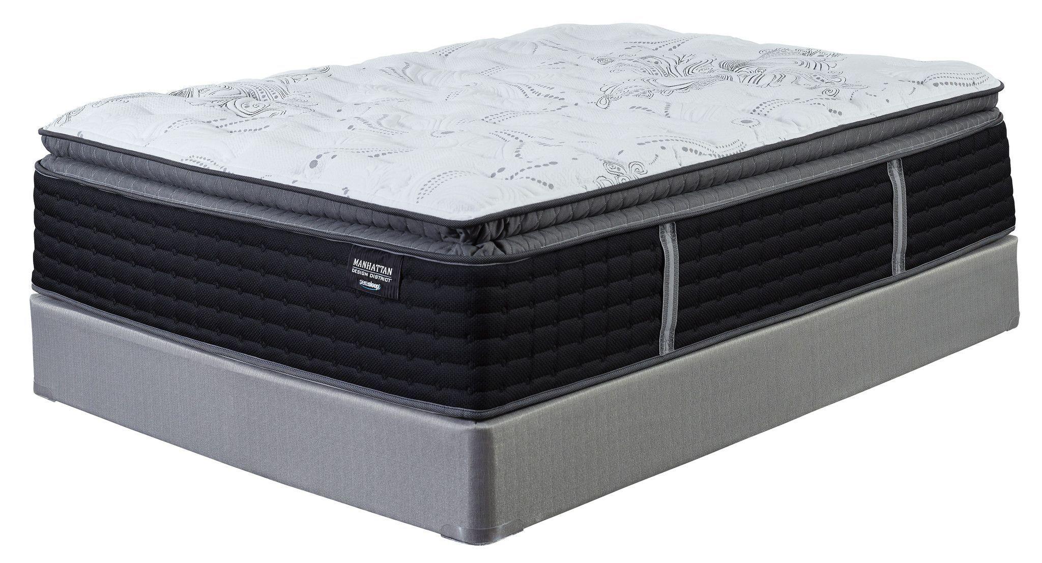 Manhattan Design District Plush Pillow Top Products Queen Design
