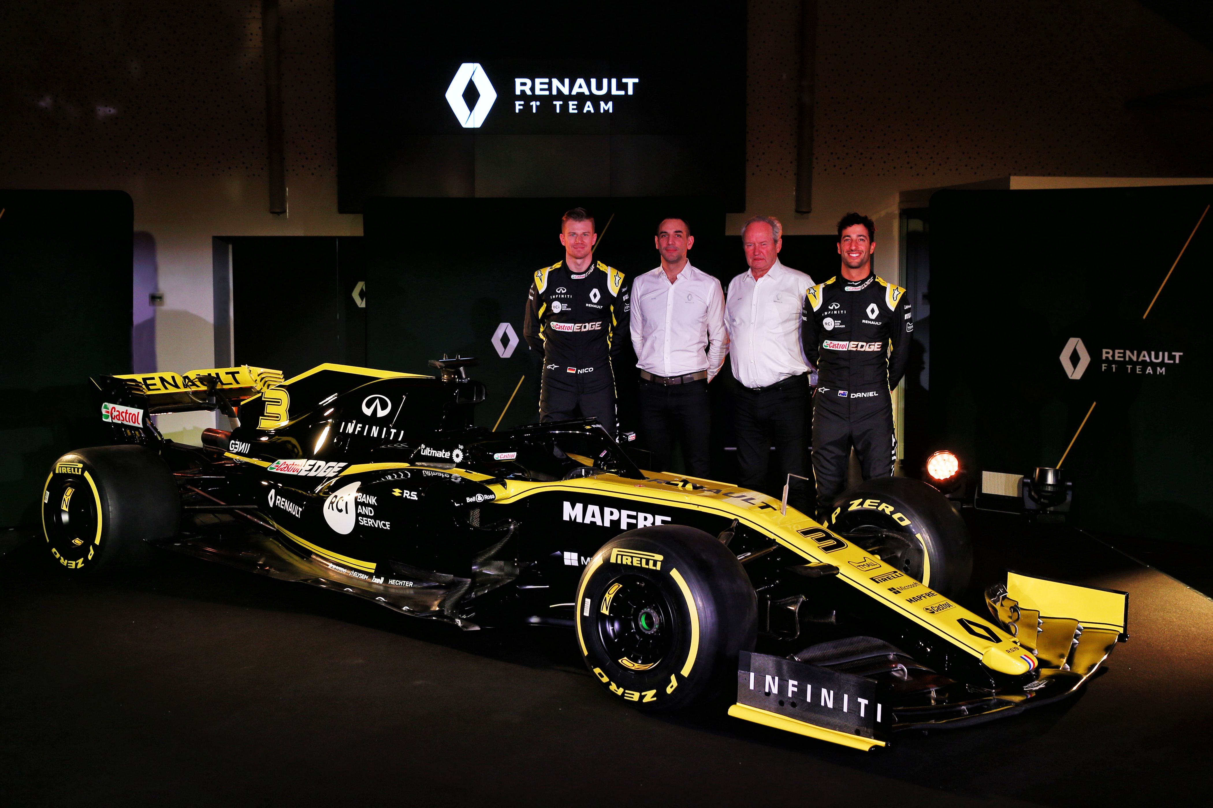 2019 Renault Rs19 F1 Car Launch Pictures 2019 F1 Wallpapers