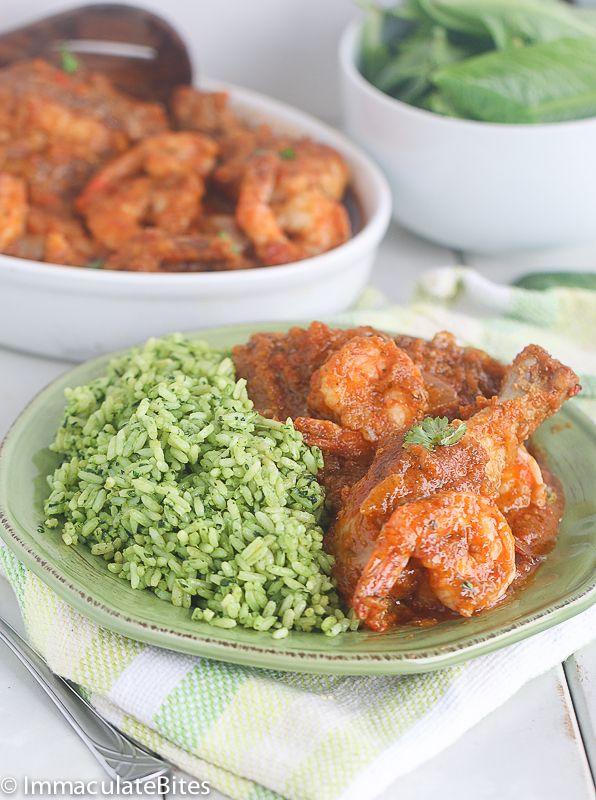Brown spinach rice check rice recipe chicken gravy gravy and liberian chicken gravy with spinach check rice forumfinder Gallery