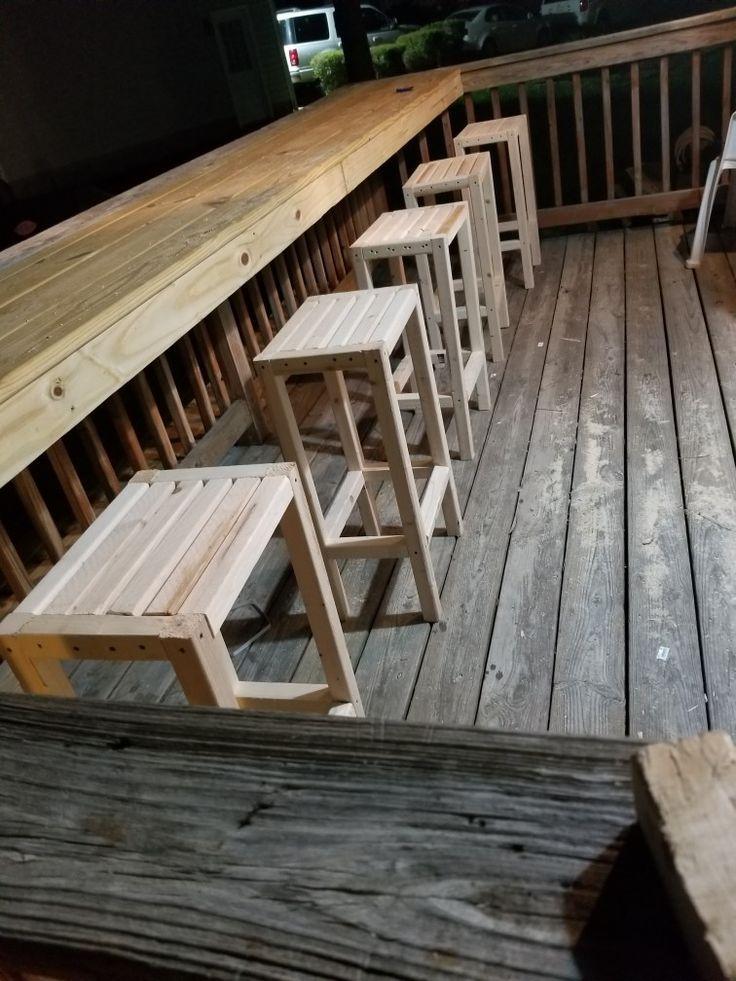 Utomhus barstolar - christmasdiydecor.com/interiors #balconybar