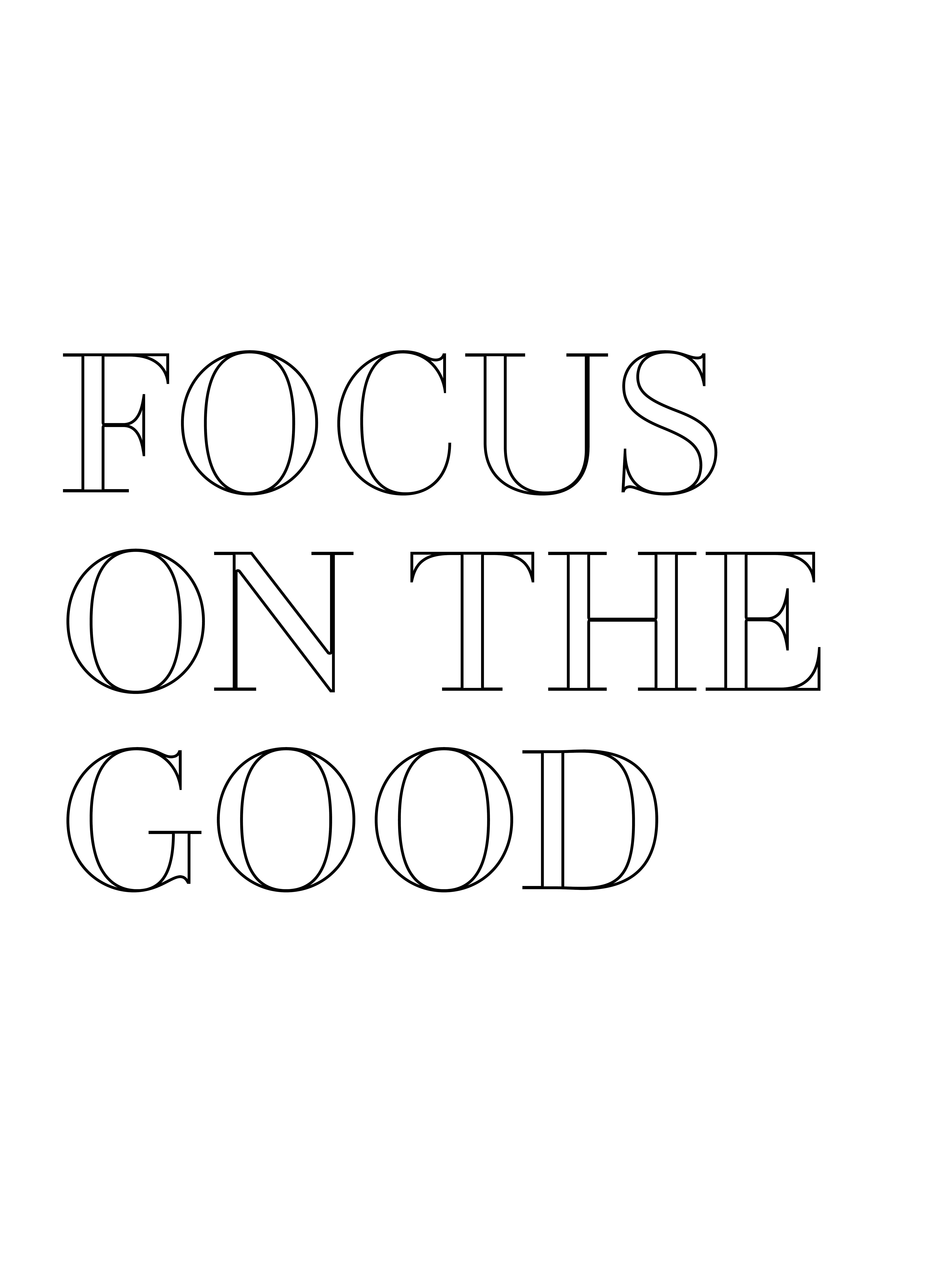 Focus On The Good Society6compinklemonadetype Quote Art Prints