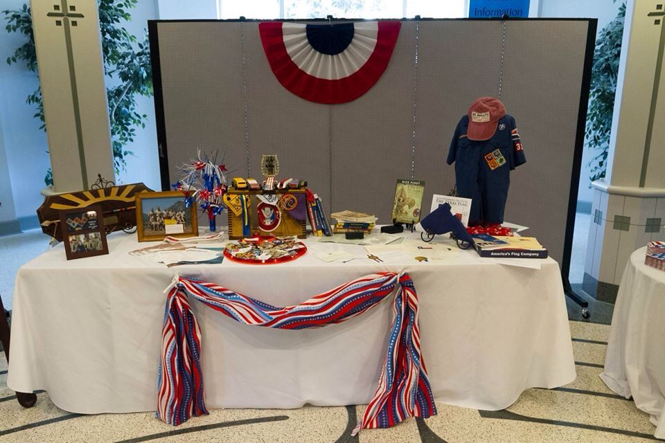 Ethan S Eagle Scout Court Of Honor Display Table Eagle