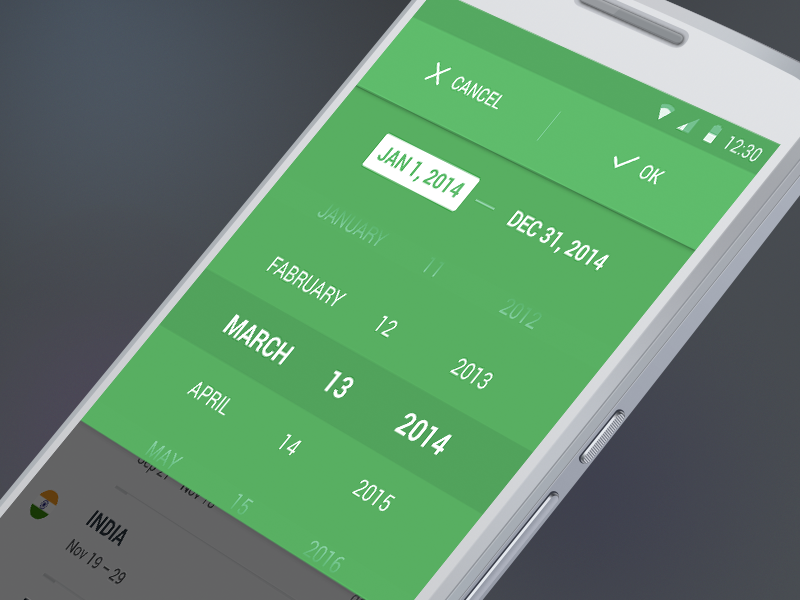 Date Picker Design Inspiration — Muzli -Design Inspiration — Medium