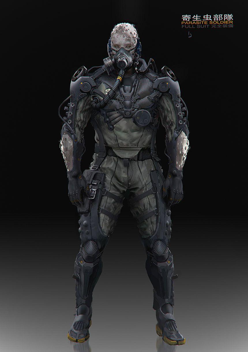 Parasite soldier metal gear online futurist warrios for Metal concept