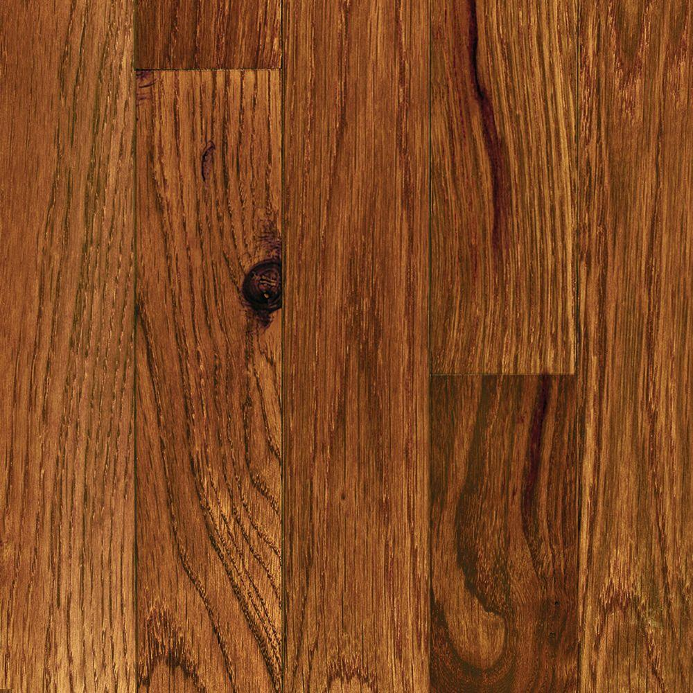 Millstead Oak Gunstock 3 8 In Thick X 3 3 4 In Wide X Random Length Engineered Click Hardwood Flooring 24 4 Sq Ft Case Pf9593 The Home Depot In 2020 Hardwood Floors Hardwood Solid Hardwood Floors