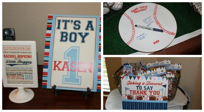 sports theme baby shower favors sports baby shower signs and gifts