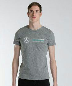 847f4cc1ffe 2016 Puma Mercedes AMG Petronas Dri Cell Mens t-shirt grey. Only available at  F1 Boutique Canada in Montreal.