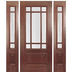 Dml9 1 2 Rustic Wood Floors Craftsman Style Doors Wood Doors