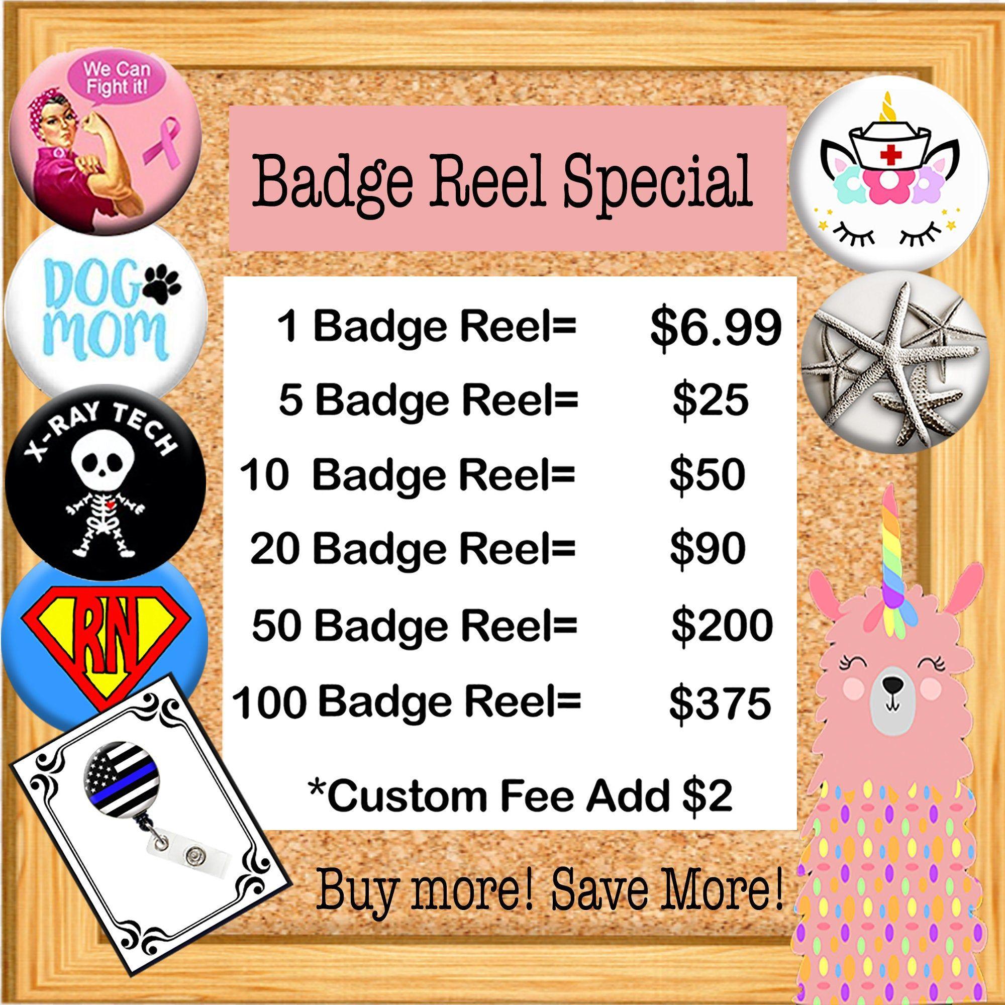 63 BlackKey Blue Evil Eye Gold Retractable ID Card Badge Holder Reel with Lanyard /& Belt Clip