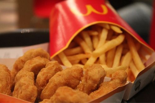 Chicken Nuggets And Fries Mcdonalds Im A Foodie For Evaaaaa