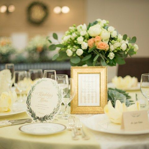 結婚式場写真「テーブルコーディネートイメージ」 【みんなのウェディング】