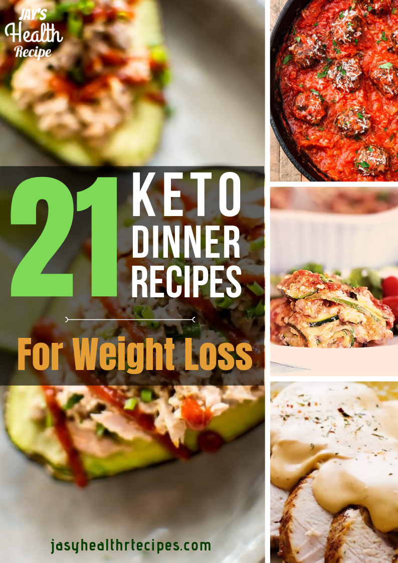 21 Keto Dinner Recipes for Weight Loss images