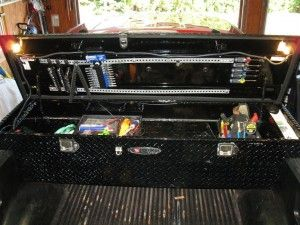 Truck Tool Box Organizers Vehicle Ideas Pinterest