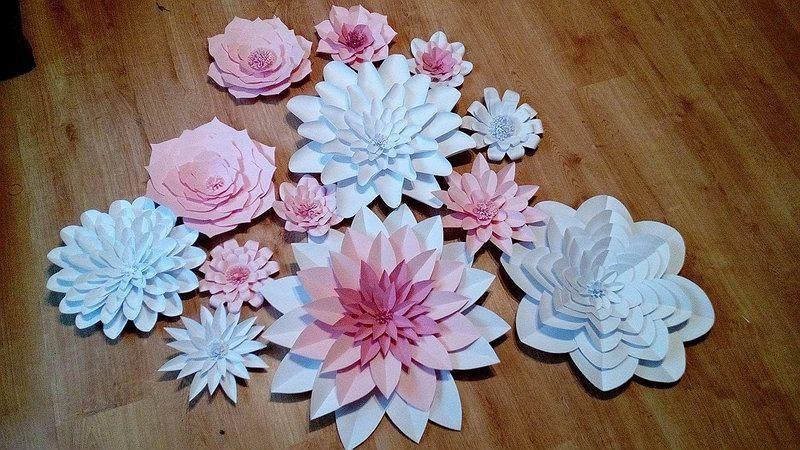 Duze Kwiaty Z Papieru Chanel Autor W Domowym Zaciszu Diy