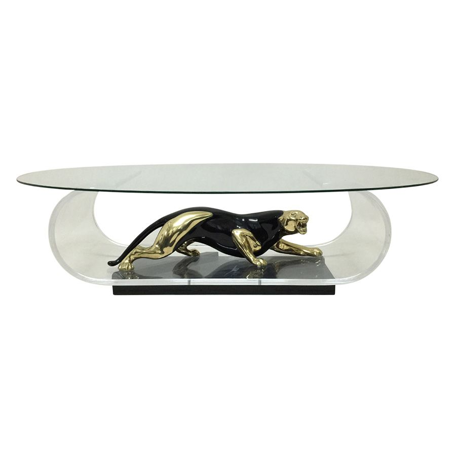 High end panther coffee table vintage furniture pinterest high end panther coffee table geotapseo Gallery