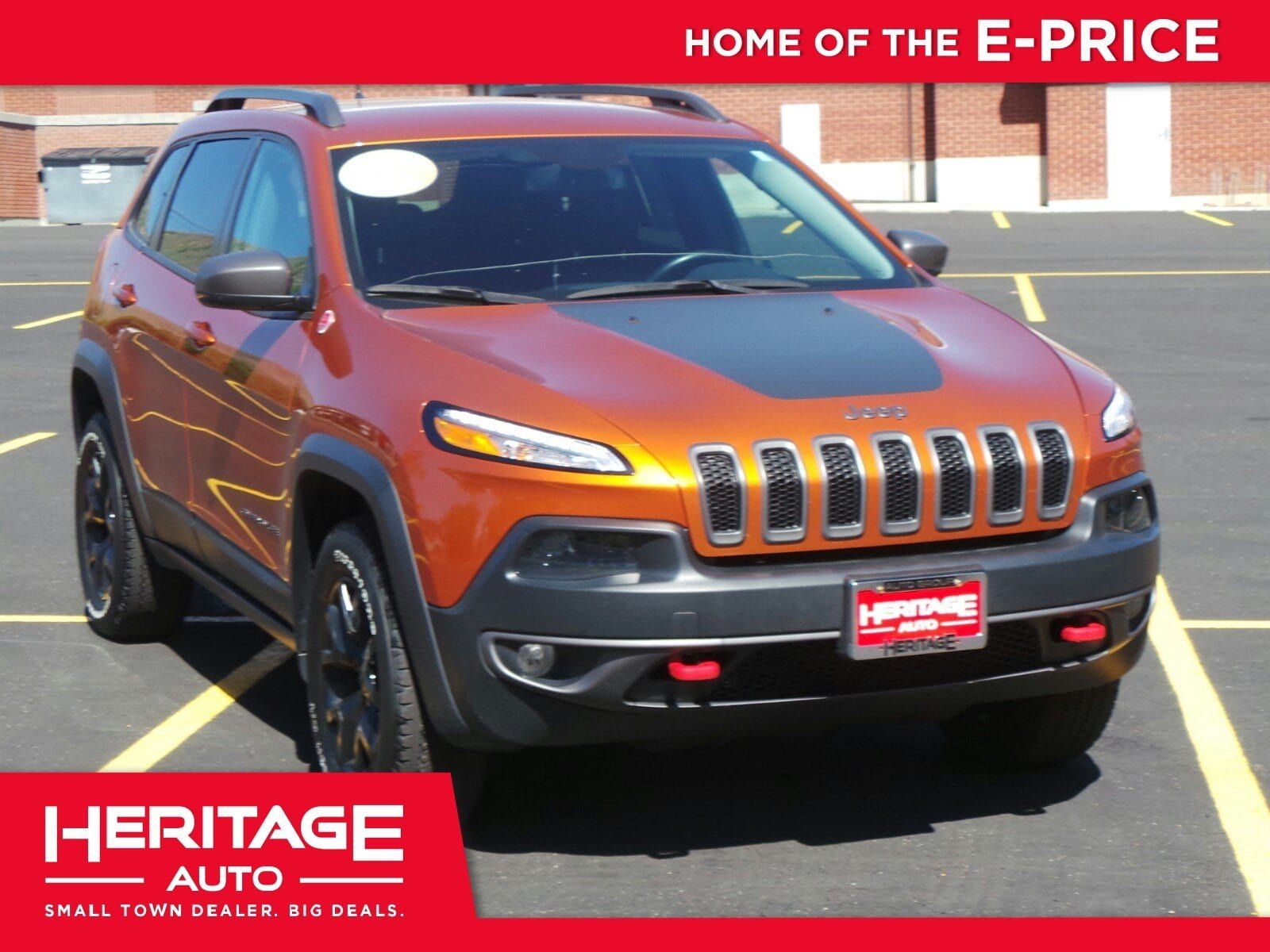 24 490 Used 2015 Jeep Cherokee From Heritage Chrysler Dodge Jeep