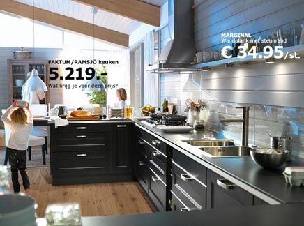 Keuken Ikea Prijs : Ikea keukens voorbeelden ideeën voor het huis kitchen black