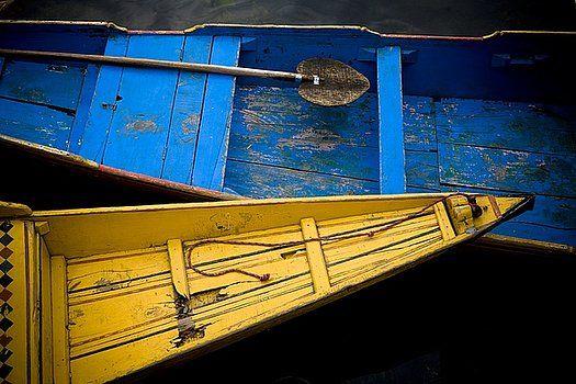 David DuChemin - Colorful Boats Dal Lake