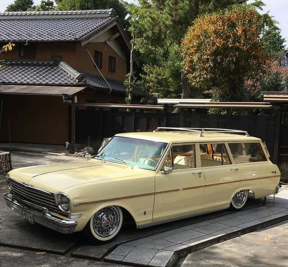Nice Little Chevy Ii Cool Old Cars Lowrider Cars Wagon Cars