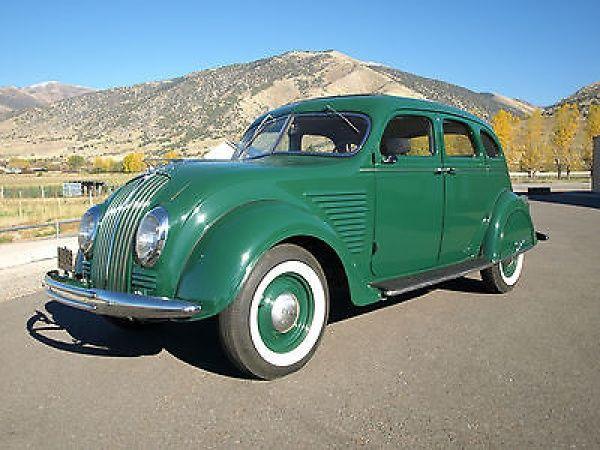 1934 desoto airflow sedan cars built before 1940. Black Bedroom Furniture Sets. Home Design Ideas
