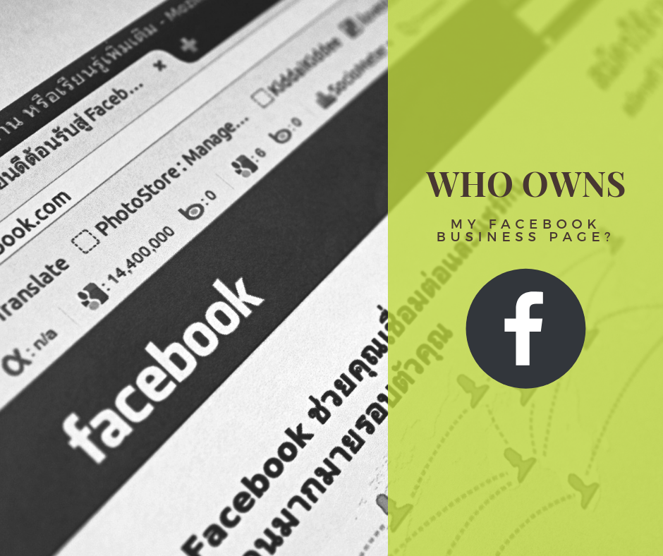 How To Get My Business Page Back On Facebook