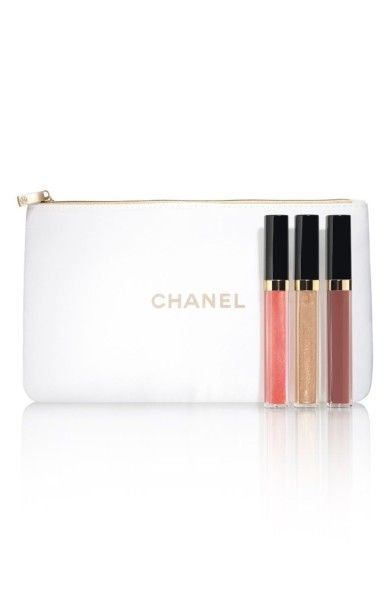 6a17779c0152a Main Image - CHANEL NUDE MOOD ROUGE COCO GLOSS Moisturizing Glossimer Trio  (Limited Edition)