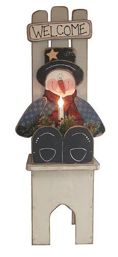This One Is Cute Free Snowman Patterns Woodworking Plans And