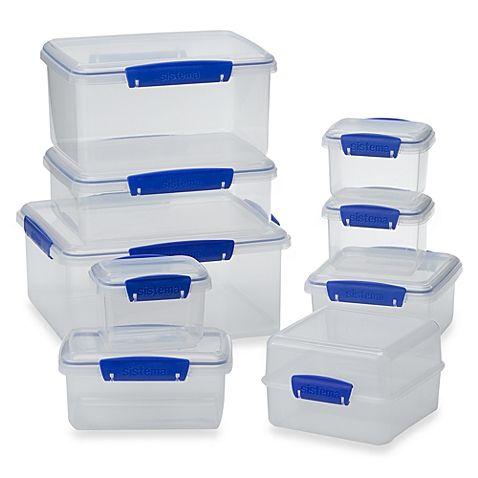 Attirant Sistema® KLIP IT® Food Storage Containers