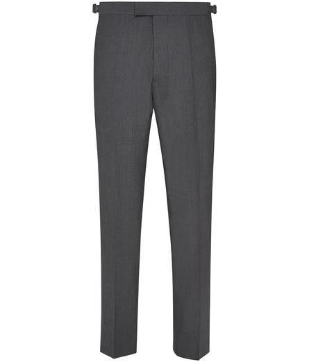 Red Slim Fit Grey Trousers Grey Trousers James Bond Outfits Slim Fit