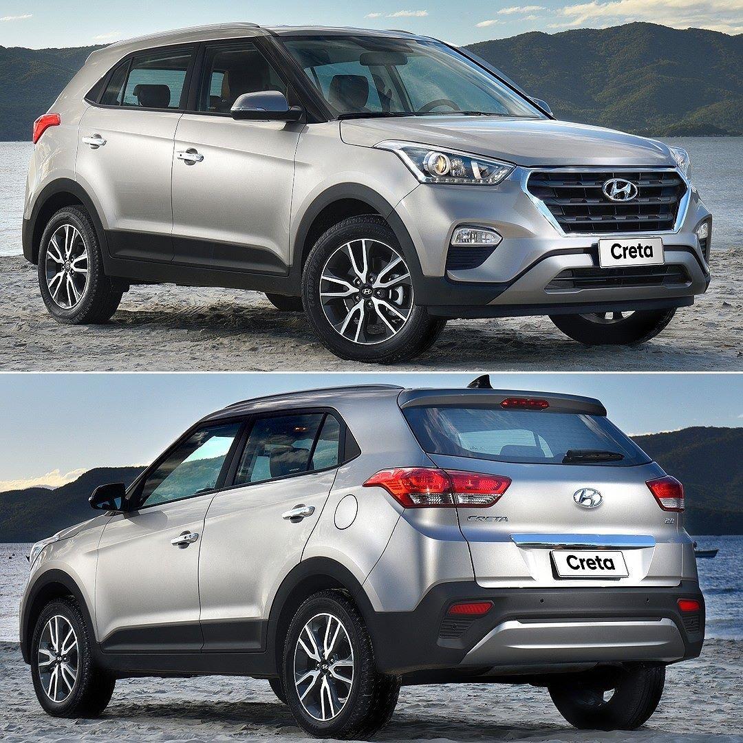 Hyundai Creta Rumo Ao Paraguai Suv Compacto Produzido Na Fabrica