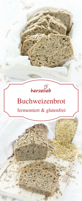 Photo of Fermentiertes Buchweizen-Brot Rezept – glutenfrei & ohne Hefe