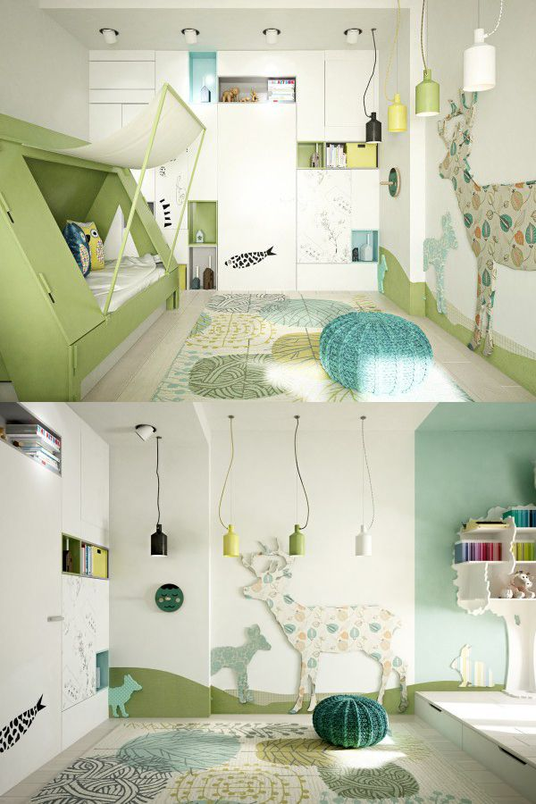 Home designing via 5 creative kids bedrooms with fun themes