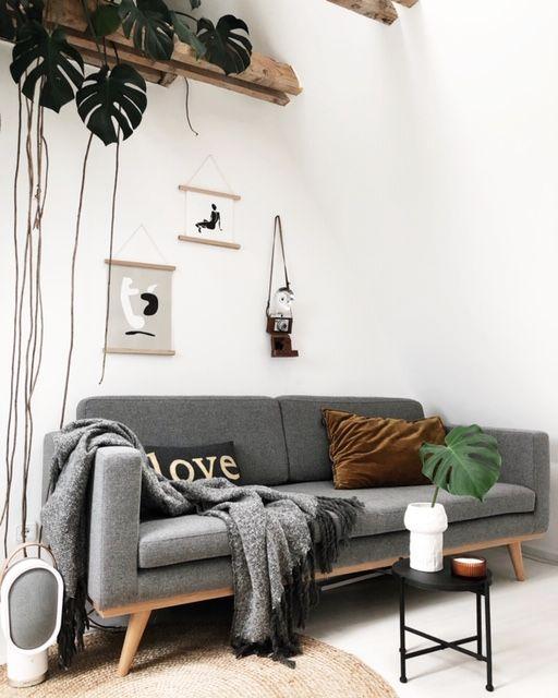 Werbung Wohnzimmer #Dachgeschoss #scandinavian #midcentury ...
