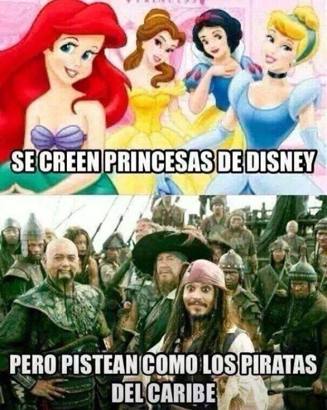 Piratas Princesas Disney Disney Princesas
